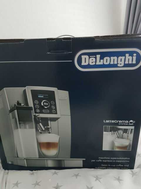 DeLonghi Ecam 23.460.S Bean to Cup Coffee Machine Silver ...