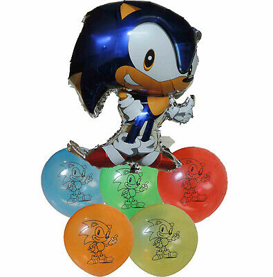Sonic The Hedgehog Balloon Birthday Party Bag Gift Centerpiece Decoration Favor Ebay