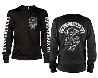 Batman BLACK /& GOLD EMBOSSED Licensed Adult Long Sleeve T-Shirt S-3XL