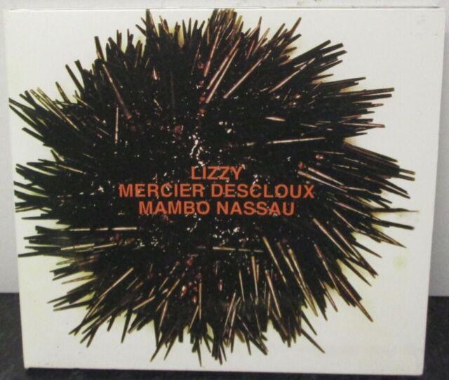LIZZY MERCIER DESCLOUX - Mambo Nassau - CD ALBUM