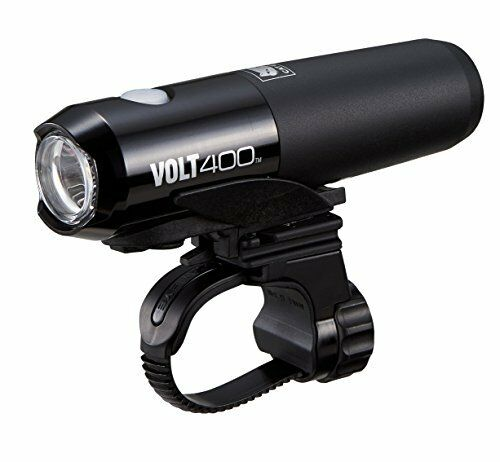CATEYE HLEL461RC VOLT 400 Rechargeable Bicycle Head Light nuovo