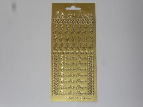 thème: fête des pères dimension totale:23x10cm stickers de contour doré