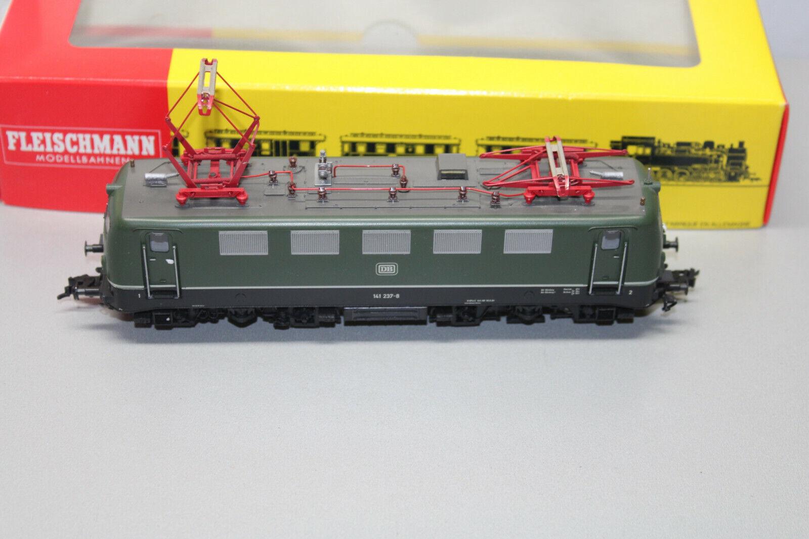 Fleischmann 1326 elok serie 141 237-8 DB verde corriente alterna Spur h0 OVP