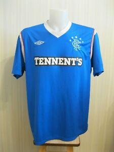 Glasgow-Rangers-2011-2012-Home-Sz-2XL-umbro-football-shirt-jersey-soccer-maillot