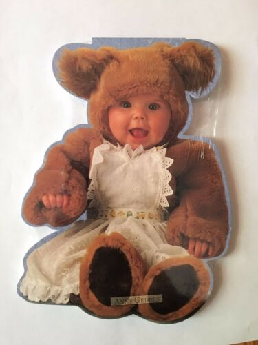 Anne Geddes Notepad Teddy Bears #4 Very Rare! New/&Sealed