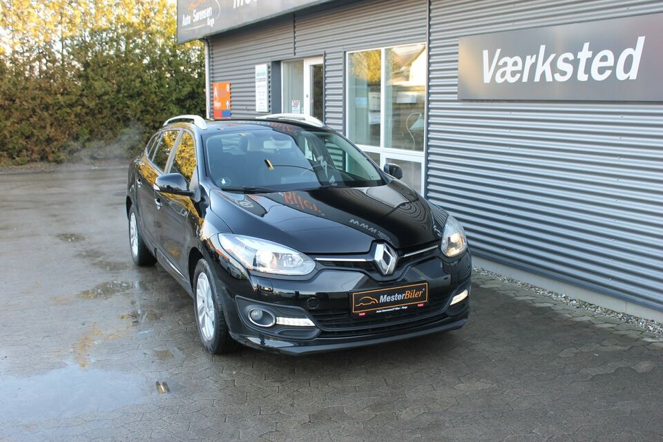 Renault Megane III 1,2 TCe 115 Expression ST Benzin modelår