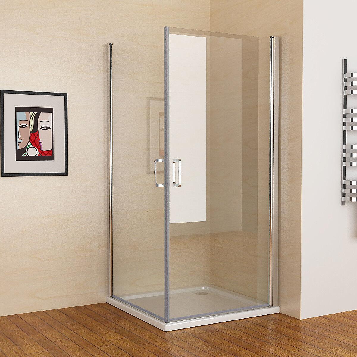 duschkabine 180 schwingt r duschwand duschabtrennung nano glas eckeinstieg 195 ebay. Black Bedroom Furniture Sets. Home Design Ideas
