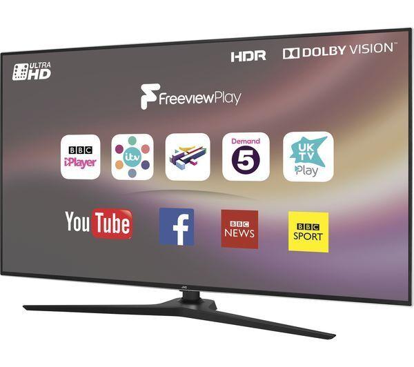 efb11ad7348f JVC LT-43C888 43 inch 4K UHD HDR LED Smart TV for sale online | eBay