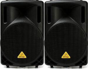 2-New-Pair-Behringer-Eurolive-B212XL-800w-Buy-it-Now-Auth-Dealer