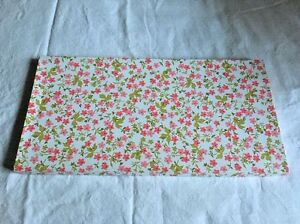 Vintage-Pink-Flowers-Floral-Flat-Linens-Extra-Large-Gift-Box