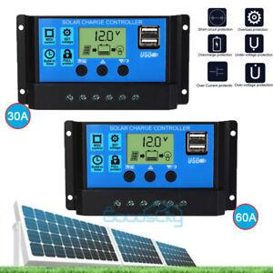 12-24V-30-60A-MPPT-Solar-Charge-Controller-Panel-Battery-Regulator-Dual-USB