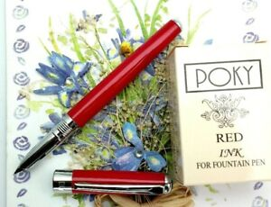 portable Poky colour ink for fountain /& CALLIGRAPHY pen VIOLET ink