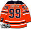 WAYNE-GRETZKY-EDMONTON-OILERS-HOME-AUTHENTIC-PRO-ADIDAS-NHL-JERSEY miniature 6