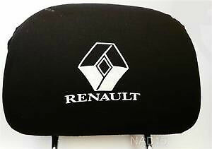 Set New Head Rest Cover for Renault Headrest covers pad