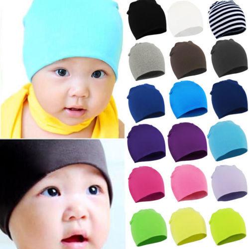Unisex Baby Cap Beanie Boy Girl Toddler Infant Children Cotton Soft Nice Hat New