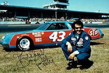 KING Richard PETTY SIGNED NASCAR Cup Winner 12x8 Photo AFTAL Autograph COA