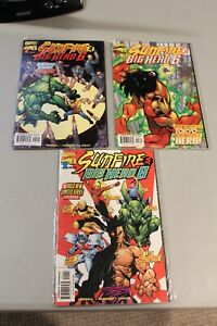 Complete-Set-Sunfire-amp-Big-Hero-6-1-3-NM-1998-1st-APP-Baymax-Honey-Lemon-Hiro