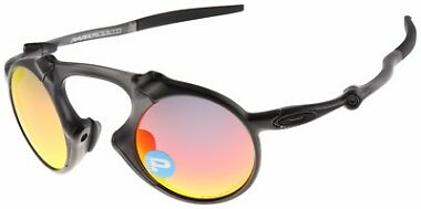 Oakley Men's Madman Polarized Iridium Round Sunglasses