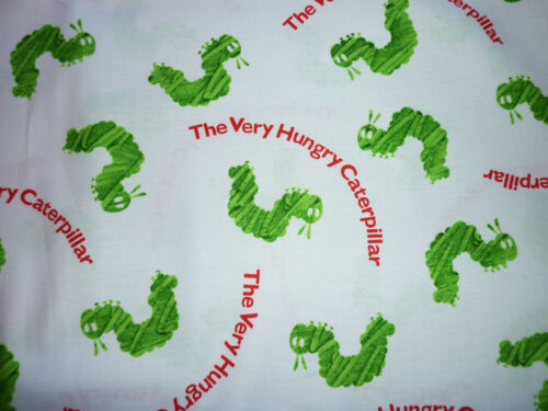 FQ The Very Hungry Caterpillar Tissu Enfants Personnage Histoire Rétro Kitsch