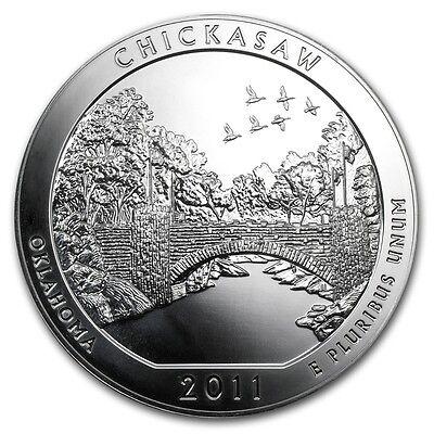 2011 5 oz Silver ATB Chickasaw National Recreation Area Park, OK - SKU #62511