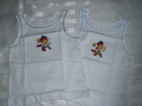 2 Pack Disney Jake /& The Neverland Pirates Chalecos Ropa Interior 18-24m hasta 4-5 pj33