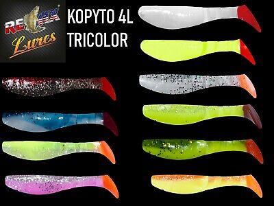 Relax Kopyto 4L 102mm 10pcs Soft Plastic Soft Bait Many Colours