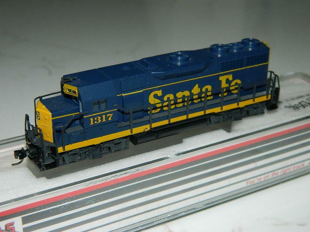 Atlas Escala N EMD GP35 Santa Fe Locomotora RDVintage Nuevo Viejo Stock
