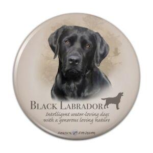 Black Lab Labrador Dog Breed Pinback Button Pin