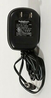 NO 200-0230 Radio Receiver AC//DC Power Adapter Cord For Radio Shack DX-402 Cat