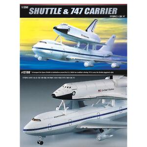 Details about ACADEMY #12708 1/288 Plastic Model Kit Space Shuttle & NASA  Transport