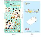 1 sheet Japanese ニャンコ先生 Nyanko-sensei Teacher Cat Diary filofax planner Sticker