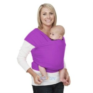 1aa4e464978 Details about Adjustable Ergonomic Baby Sling Stretchy Wrap Carrier  Breastfeeding Pouch Cotton