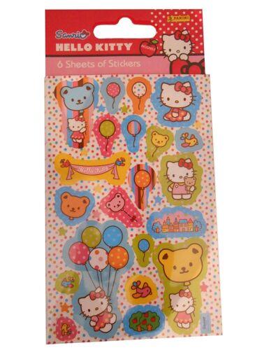 Hello Kitty Flores Pegatinas Reutilizables Hoja Pegatina artesanías de papel