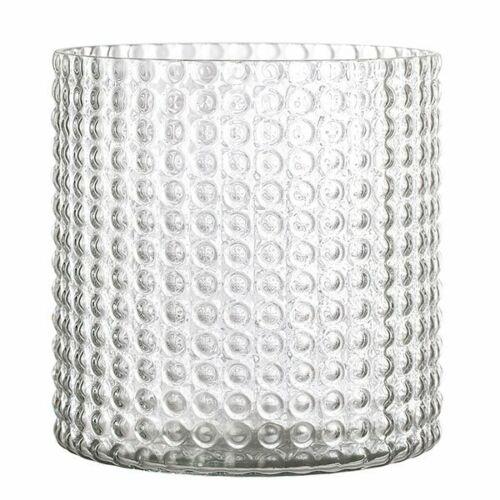 16x16,5 cm Vase bloomingville verre clair