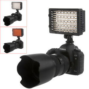 NEEWER-CN-160-Dimmable-LED-Vedio-Light-for-Canon-Nikon-Camera-Camcorde