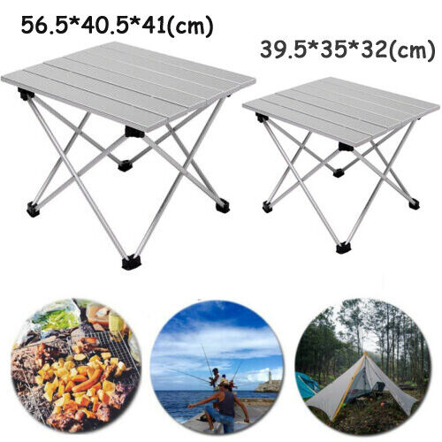 Portable Folding Camping Table  Aluminum Picnic Party Kitchen Outdoor Garden US  sale online discount low price
