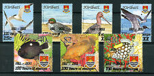 Kiribati 2011 MNH 100 Years of Stamps OVPT 7v Set Birds Ducks Gulls Fish Fishes