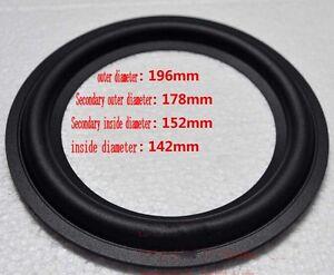 2pcs-8-034-inch-178C-Speaker-rubber-edge-woofer-Speaker-Surround-repair-parts