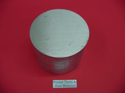 "6/"" ALUMINUM 6061 ROUND ROD 3.75/"" LONG T6511 Solid Lathe Bar Stock 6.0/"" OD"