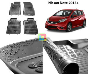 TAPPETI TAPPETINI IN GOMMA NISSAN Note II dal 2013