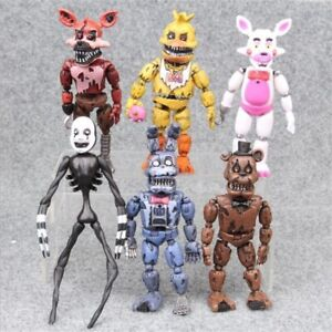 Details about Five Night at Freddy's action figure toy models Fnaf Bonnie  Bear Foxy Freddy