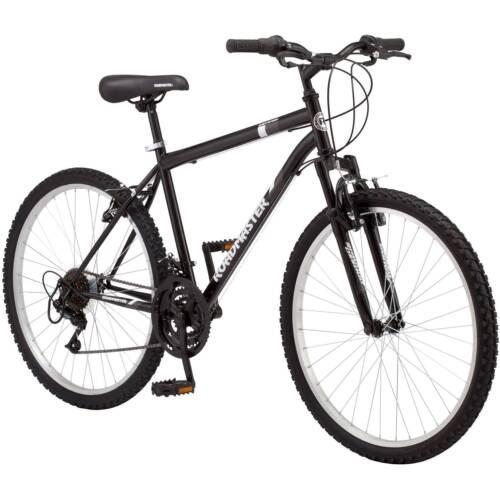 "NEW Mountain Bike 26/"" Inch Roadmaster Granite Peak Men/'s 18 Speed Bicycle BLACK"