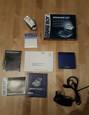 Nintendo Game Boy Advance SP console cobalt blue Boxed Handheld System gameboy