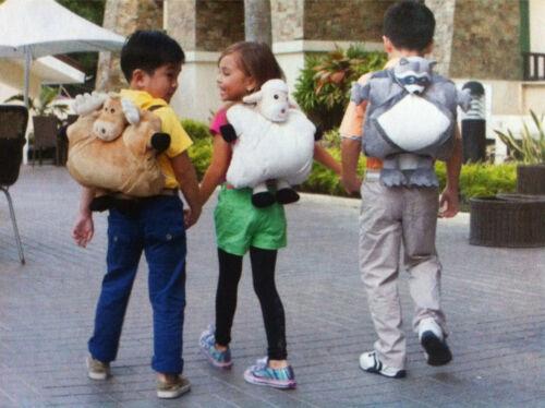 Kinder GOGO Multifunktions-Kissen div Tiere NEU Ipad usw Rucksack für Tablet