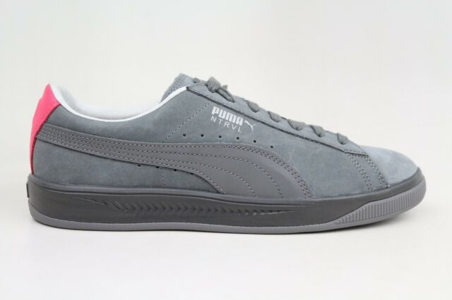 save off 69245 1d9bc PUMA X STAPLE SUEDE IGNITE NTRVL SMOKED PEARL PIGEON SILVER 364391-02 MENS  SHOES