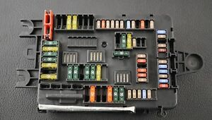Details about GENUINE BMW X5 X6 F15 F16 REAR FUSE BOX FUSEBOX RELAY on