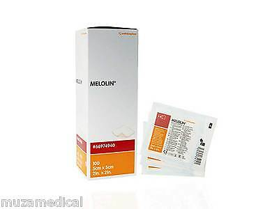 Melolin Low Adherent Absorbent Dressing Wound Pad Smith Nephew Premium Quality