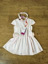 4be1d0f8b75e90 Girls Ted Baker Pale Pink Bow Dress With Matching Headband 18-24 Months BNWT