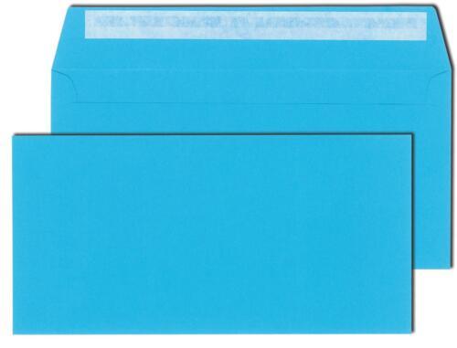 haftklebend Din lang Farbe 120g//m² hellblau 50 Briefumschläge