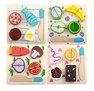 Wooden-Pretend-Kitchen-Play-Set-Cut-Fruit-amp-Veg-Cakes-Pretend-Kitchen-Play-Food